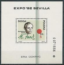Poland block MNH (Mi. B116) Expo Sevilla