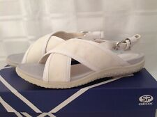 Geox  Footbed sandals Size UK 4/37, BNWB. RRP £65. Colour Off White.