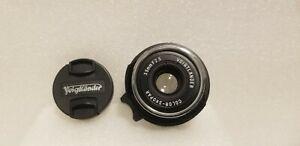 Voigtlander Color Skopar 35mm 2.5 lens for Leica M Mount