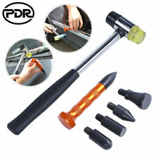 6x PDR Tools Paintless Dent Removal Repair Rubber Hammer Knock Tap Down Pen Kit