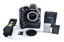 Nikon D3300 24.2MP Digital SLR Camera (Body Only) With Battery Grip Shutter=11k