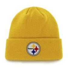 NEW! Yellow NFL Pittsburgh Steelers Beanie Winter Hat Warm Gift Antonio Brown
