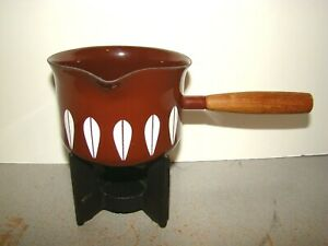 Cathrineholm Lotus Brown Fondue Pot w/ Stand