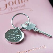 Guardian Angel Keyring, Christening Gift, Angel Gift