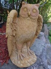 Stone Owl Garden Ornaments Owl garden statues ornaments ebay stone workwithnaturefo