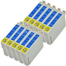 10x Patronen cyan Stylus SX218 SX100 SX415 SX200 SX205 SX210 D92 D78 DX7450