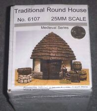 Traditional Round House - 25mm Medieval Series - #6107 - JR Miniatures <NEW> OOP