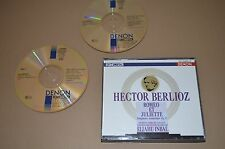 Berlioz-Romeo et Juliette/Sinfonia Dramatique/Inbal/Denon 2cd/Giappone