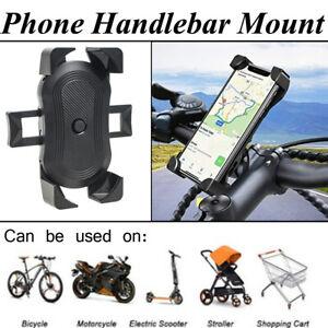 Phone Holder 360° Bike Handlebar Mount Rotation for Motorcycle Bicycle MTB Pram