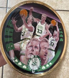 Larry Bird Limited Edition Gold Signature Plate Boston Celtics