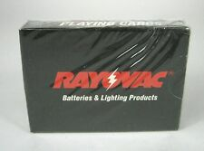 Rayovac Playing Cards Batteries Lighting Projects Factory Sealed Deck Usa