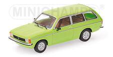 Opel Kadett C Caravan L (1978) green 1:43 Minichamps 400048110