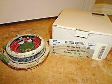 NIB St Louis Cardinals Busch Stadium II 2 Replica Stadium SGA 9-8-2005 W/ Ticket