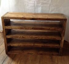 Wide 4 shelf display unit/shoe rack