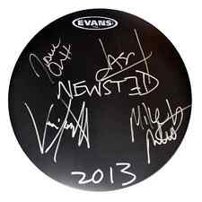 Metallica Signed Drum Jason Newsted Band Autographed Drum (Staind Hetfield Lars)