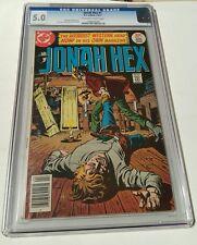 Jonah hex # 1, 1977 cgc 5.0