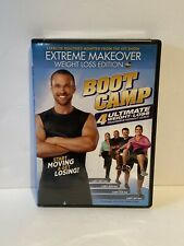 Extreme Makeover: Weight Loss Edition - Boot Camp Workout Dvd, 4 Levels