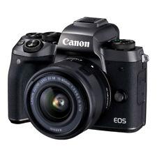 NUEVO Canon EOS M5 24.2MP MILC Cámara + 15-45mm f/3.5-6.3 IS STM Lente NEGRO