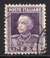 Italy 2.65 Lire Stamp c1927-29 Used (4673)