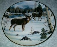 WINTER'S MAJESTY BY JJ WHITING LIMITED EDITION IWC FRANKLIN MINT PLATE