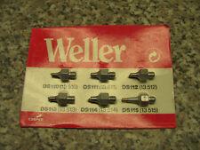 Weller DS Entlötdüsen, 6er Pack, neu, Originalverpackt