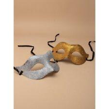 2x en la plata y un en dorado Máscara Carnaval Ojos Graduación Gótico Navidad