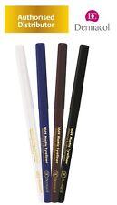 Dermacol 16H Matic Delineador de Ojos Automático Lápiz de Ojos Azul Marino Blanco Marrón Negro
