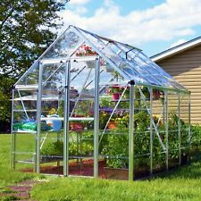 New listing Snap & Grow 8' × 8' Greenhouse Aluminum Frame Walk-In Outdoor Plant Garden