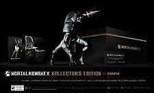 Mortal Kombat X Collector's Edition Kollector Coarse (PlayStation 4, 2015) New