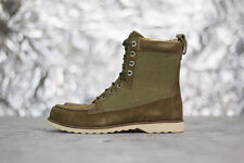 TIMBERLAND ABINGTON 'Guide' Boots - UK 6.5 - Suede Leather Ankle Olive 42513