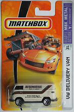 "Matchbox – VW T1 Transporter ""Automotive Parts & Service"" Neu/OVP US-Card"