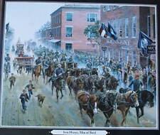 """Iron Horses, Men of Steel"" Mort Kunstler Civil War"