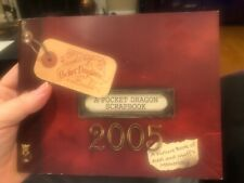 Pocket Dragon Super rare scrapbook 2005 picture book of memories only one eBay 4