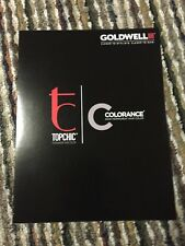 Goldwell Topchic Chart Hair Color Info Booklet Color Chart