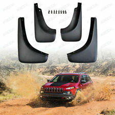 Mud Flaps Splash Guards Fender Flares for 2014-2018 Jeep Cherokee Accessories