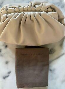 Bottega Veneta The Pouch Plaster/Gold Harware Retail $2790