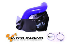 K-Tec Racing Clio 3 RS 197/200 Left Hand Drive Induction Kit Blue