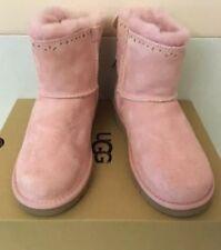 UGG Australia Boots Dixi Flora Perforated Pink Blush US 4 / UK 3 / EU 34 New