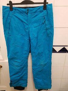 Columbia ski snowboard trousers pants Large   blue UK14