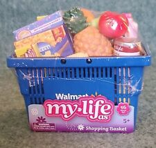 "My Life As Walmart Shopping Basket & Groceries for 18"" Dolls 2020 NEW"