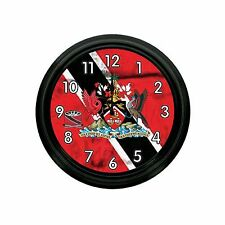 TRINIDAD AND TOBAGO NOVELTY WALL CLOCK