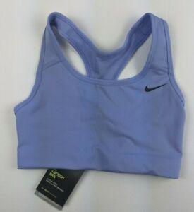 Nike Swoosh Bra, Lavender, Women's XS