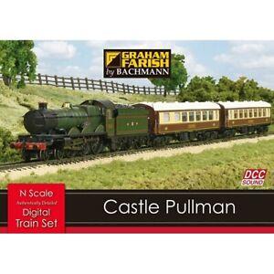 Graham Farish 370-160 N Gauge Castle Pullman DCC Sound Train Set