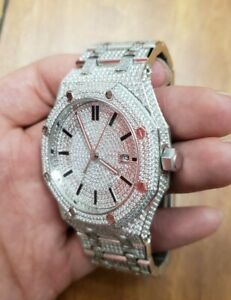 Automatic Iced Out Hip Hop Bling Watch (unbranded)