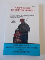 New Guide to Better Fishing Book Bashford Lures Fish Sport Angler Lines Bass