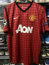 Nike Manchester United Van Persie Home Jersey / Shirt 2012-13 sz L UCL Mint