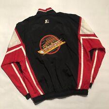 Vintage Vancouver Canucks NHL Starter Windbreaker Jacket (Men's XL)