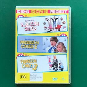 Problem Child 1 2 &3 John Ritter Kids Comedy DVD Region 4