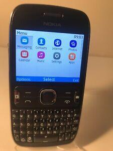 Nokia Asha 302 - Dark Grey (Unlocked) Mobile Phone QWERTY