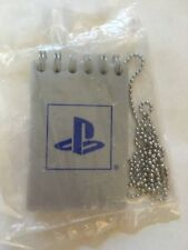 RARE-PlayStation Mini Spiral Notebook on Chain-BRAND NEW